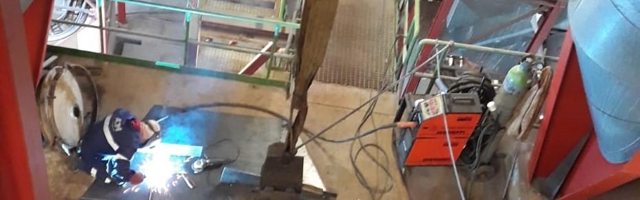 Indústria ATM - paragem industrial manutenção