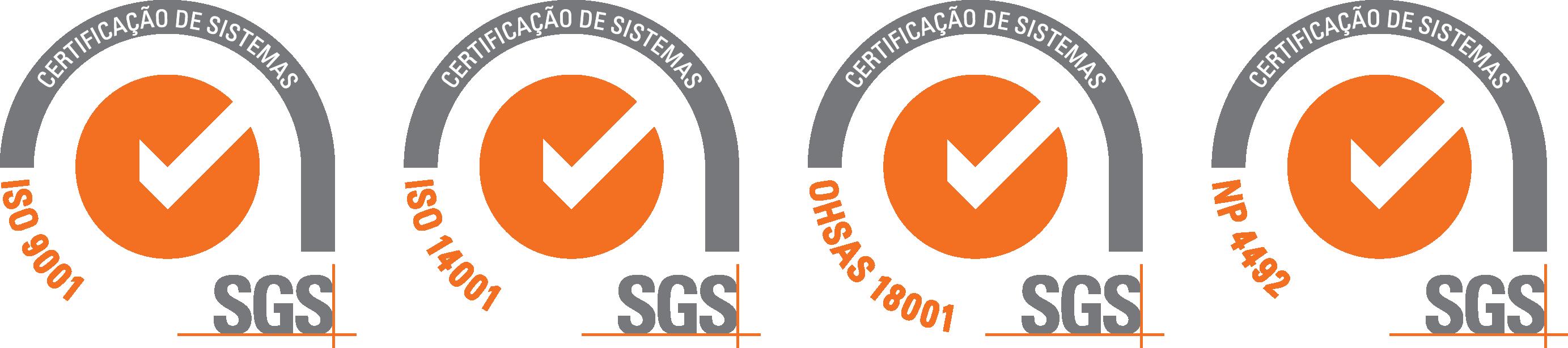 ATM - Selos Certificação SGS